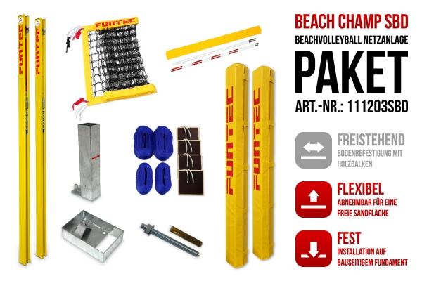 Netzanlage Beach Champ SBD