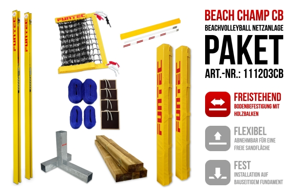 Netzanlage Beach Champ CB