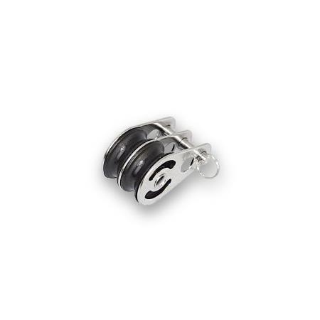 Seilblock (2-fach) für Flaschenzug-Spannvorrichtung
