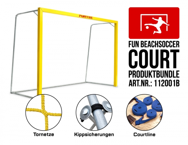 Fun Beachsoccer Court (Bundle)