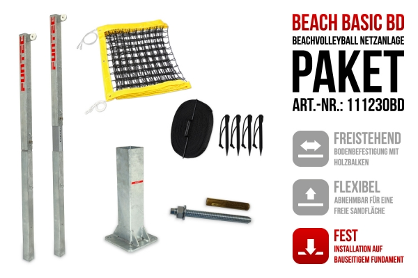 Netzanlage Beach Basic BD
