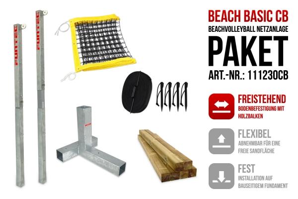 Netzanlage Beach Basic CB